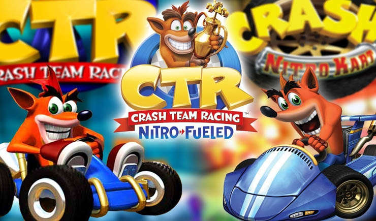 Fakta Menarik di Game Crash Team Racing Nitro-Fueled